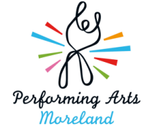 performing arts moreland logo